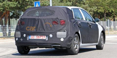 2017 Hyundai i30 potentially spied