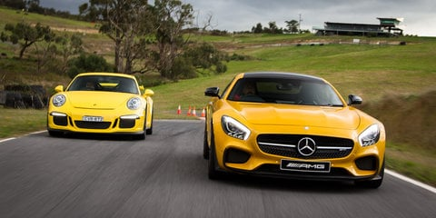2015 Mercedes-AMG GT S v Porsche 911 GT3 Comparison Review