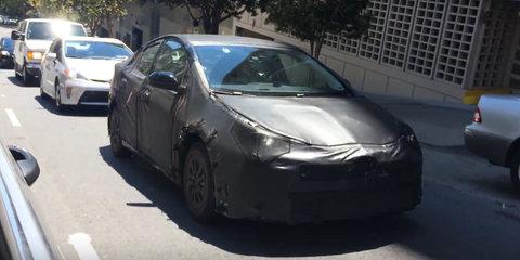 2016 Toyota Prius filmed in San Francisco