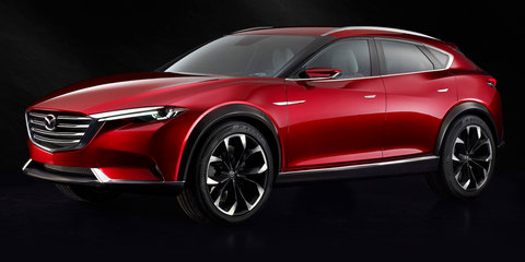 Mazda Koeru crossover concept revealed