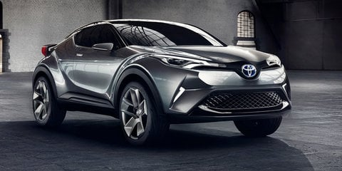 Toyota C-HR SUV concept sequel revealed in Frankfurt: Final version due for Geneva show