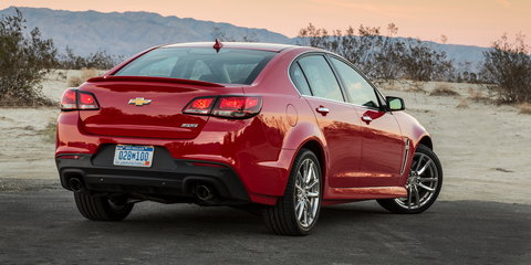 2016 Chevrolet SS facelift mirrors Commodore update