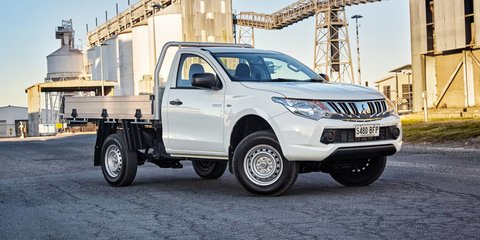 2016 Mitsubishi Triton: 4x2 petrol base model added to the range, plus new dual-cab variants