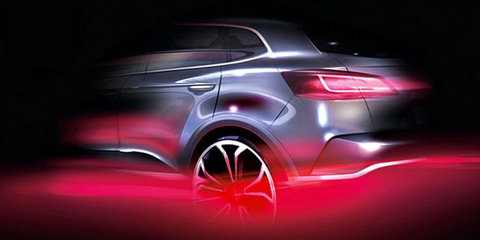 Borgward SUV previewed in new sketch ahead of Frankfurt debut