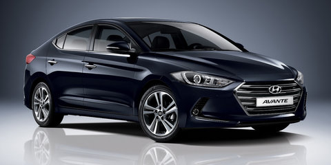 2016 Hyundai Elantra revealed ahead of Australian launch next year