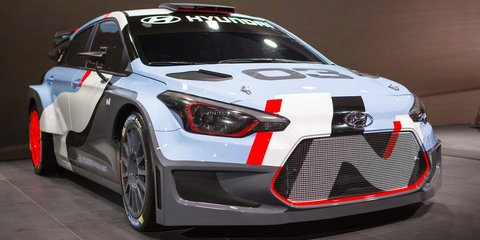 2016 Hyundai i20: five-door WRC car previewed at Frankfurt motor show