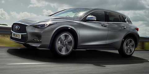 Infiniti Q30 revealed in Frankfurt, to be brand's top seller in Australia