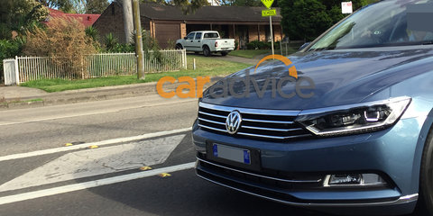 2016 Volkswagen Passat spied in Sydney ahead of Australian launch