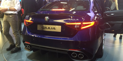 Alfa Romeo Giulia QV priced from €79,000 to €95,000; laps Nurburgring in 7:39m