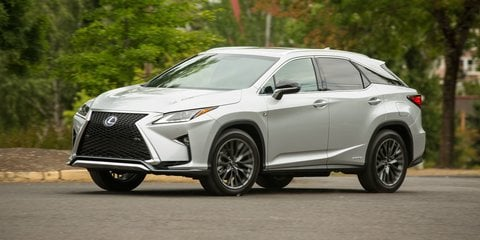 2016 Lexus RX : Preliminary specifications announced