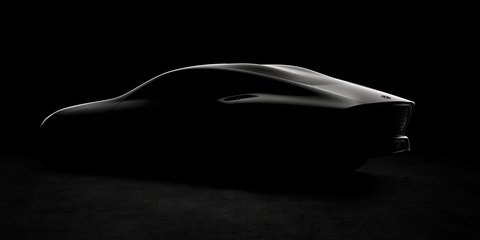 Mercedes-Benz Concept IAA teased for a second time, four-door coupe body revealed