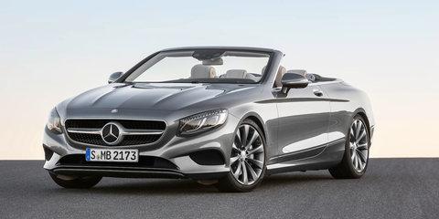 Mercedes-Benz S-Class Cabriolet revealed