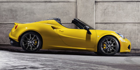 Alfa Romeo 4C Spider gets sub-$100K price tag