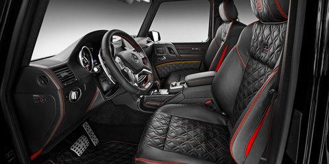 Mercedes-Benz G500 :: Brabus 4x4² revealed