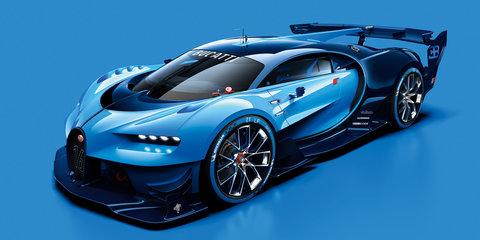 Bugatti Vision Gran Turismo unveiled ahead of Frankfurt debut