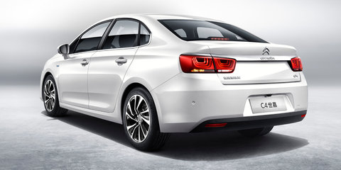 New Citroen C4 sedan unveiled in China