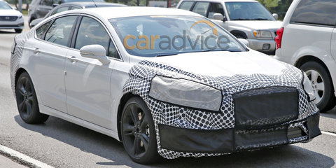 Ford Fusion/Mondeo ST spy photos
