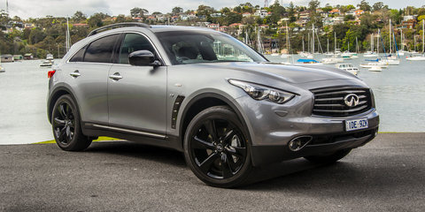 2016 Infiniti QX70 S Design Review