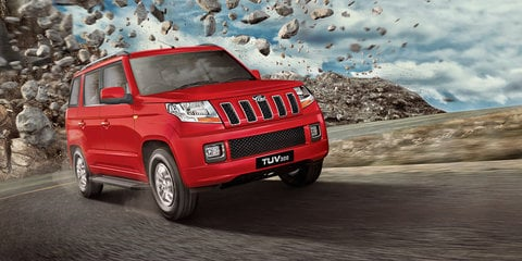 "Mahindra TUV300 is a ""true blue SUV"", but not for Australia"