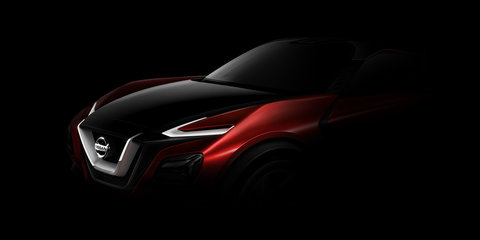 Nissan crossover concept teased ahead of Frankfurt debut