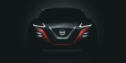 Nissan Gripz concept teased, hints at a Z-car crossover