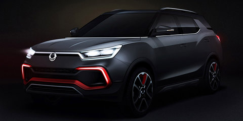 Ssangyong XLV-Air concept previews LWB Tivoli