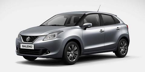 2016 Suzuki Baleno front end revealed