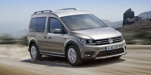 Volkswagen Caddy Alltrack revealed