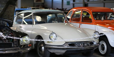 Citroen ‎Conservatoire: A look through 96 years of heritage