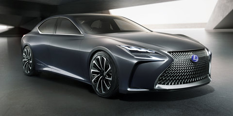 "Lexus LF-FC concept revealed: ""Progressive luxury"" styling showcased in Tokyo"