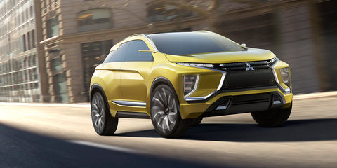 Mitsubishi eX concept revealed: electric SUV previews next-gen tech