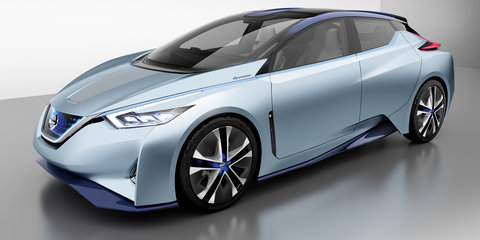 Nissan IDS driverless EV revealed - Video: Is this the next Leaf?