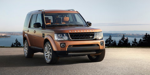 2016 Land Rover Discovery Landmark, Graphite models join local range