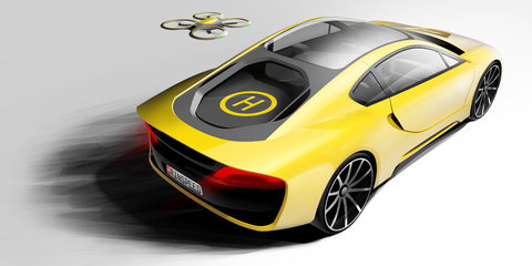 Rinspeed Ʃtos autonomous sports car concept bound for CES