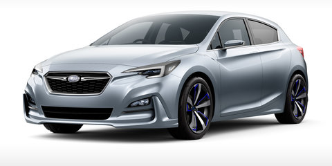 2016 Subaru Impreza previewed with new Tokyo concept