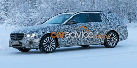 2016 Mercedes-Benz E-Class Estate wagon spied testing - UPDATE