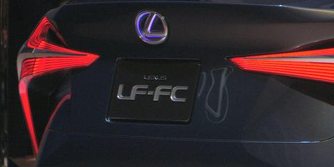 Lexus LF-FC Concept Walkaround : 2015 Tokyo Motor Show