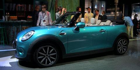 2016 Mini Convertible : 2015 Tokyo Motor Show