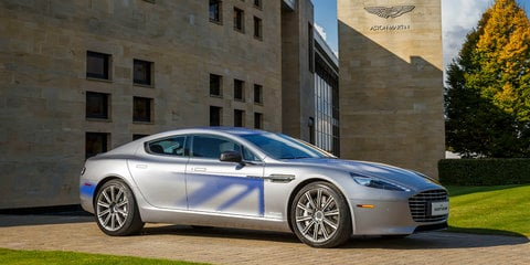 Aston Martin RapidE EV concept unveiled, may be built within two years