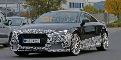 2016 Audi TT RS spy photos