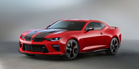 Chevrolet Camaro SS Black and Red Accent Package concepts to debut at SEMA