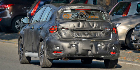 2016 Fiat Tipo hatchback spy photos