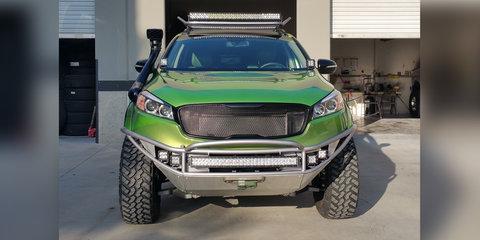 Kia Sorento Trail Edition teased ahead of SEMA debut