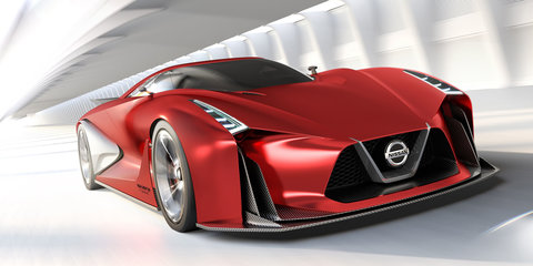 Updated Nissan Concept 2020 Vision Gran Turismo to debut at 2015 Tokyo show