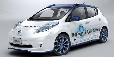 Nissan Leaf Piloted Drive 1.0 previews latest driverless tech: 2020 launch reaffirmed