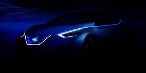 Nissan teases self-driving electric car concept for Tokyo