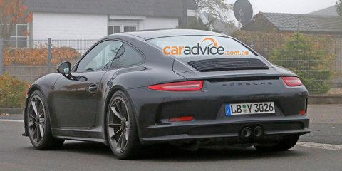 2016 Porsche 911 'R' spy photos