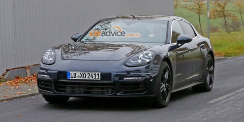 2017 Porsche Panamera spied near the Nurburgring