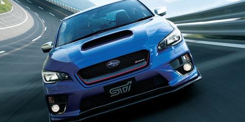 Subaru WRX STI S207 limited edition unveiled in Tokyo