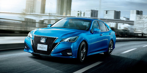 Toyota Crown facelift debuts car-to-car and car-to-infrastructure tech